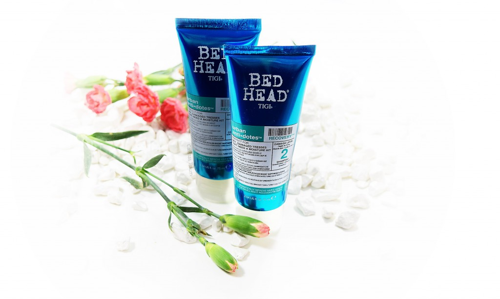 Bed Head by Tigi Recovery Shampoo & Conditioner / 15,90 Euro + 16,90 Euro / 250 ml + 200 ml