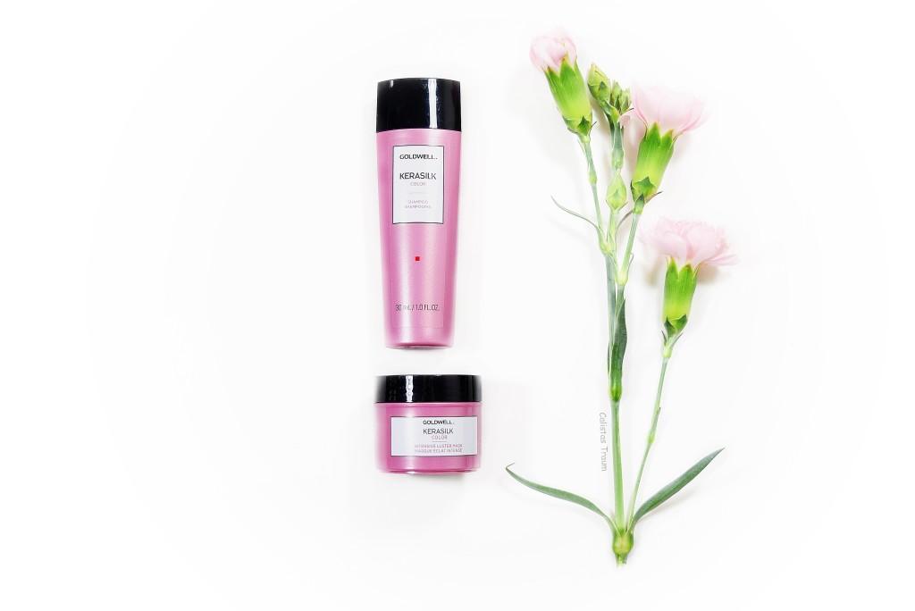 kerasilk color shampoo & kerasilk color tiefenpflegende maske von goldwell / sondergrößen