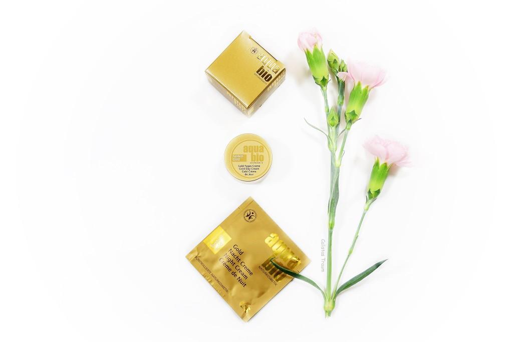 gold tagescreme von aquabio / sondergröße