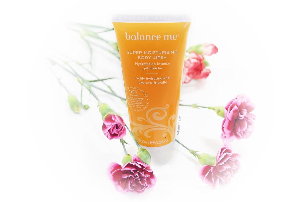 super moisturising bosy wash von balance me / 8,20 euro - 100ml