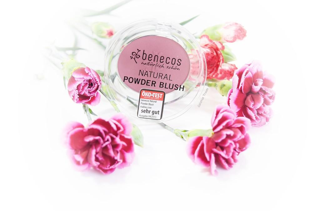 natural powder blush von benecos / 3,99 euro - 5,5g