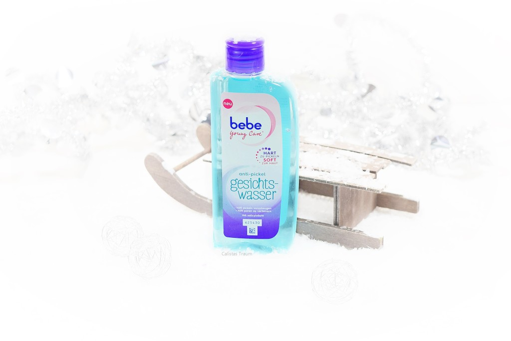 "bebe young care ""anti pickel gesichtswasser"" / 3,99 euro - 150ml"