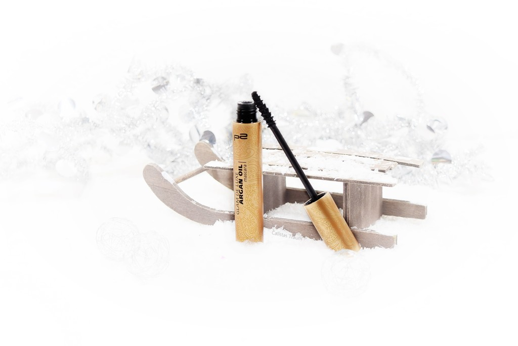 p2 cosmetics glam de luxe argan oil mascara / 3,75 euro - 9ml