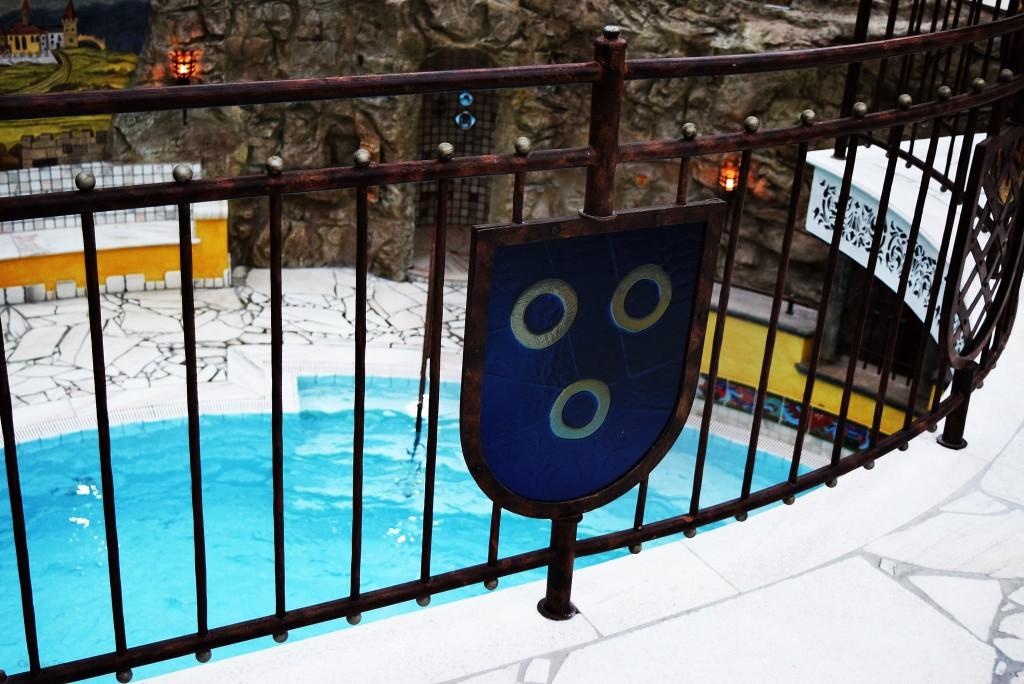 VILA VITA Burghotel in Dinklage // Wellnessbereich