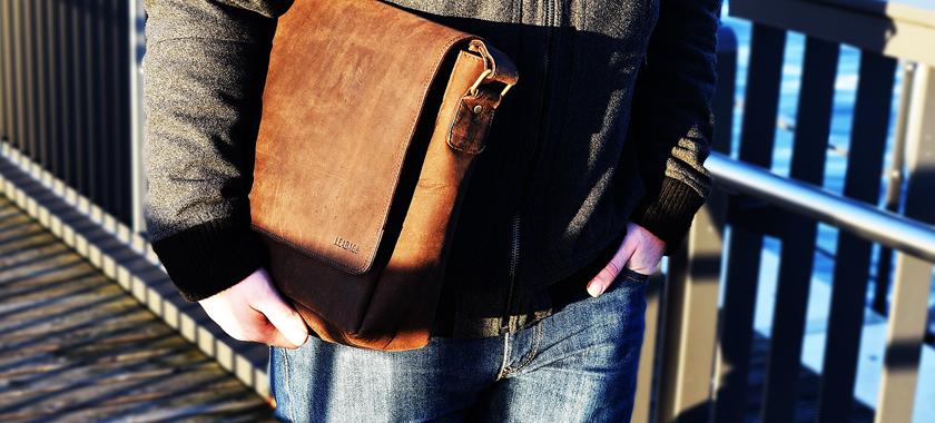 Mode ist auch immer ein Statement – LEABAGS Oxford Umhängetasche