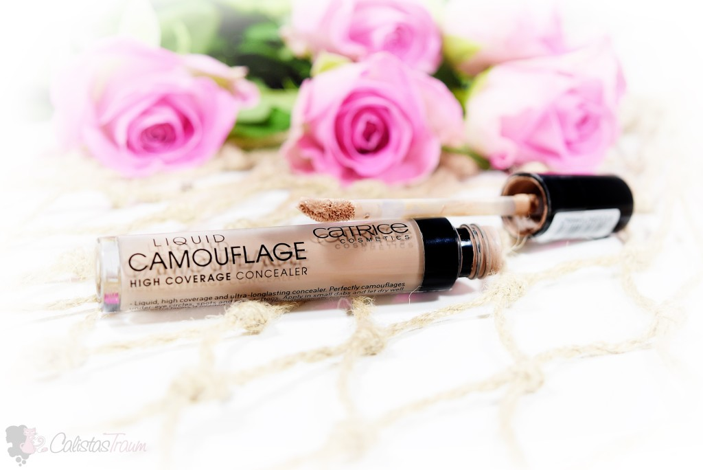 "Liquid Camouflage High Coverage Concealer ""010 Porcellain"""