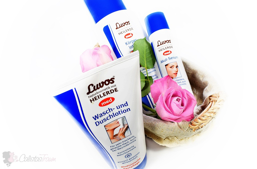 Medizinische Hautpflege von Luvos