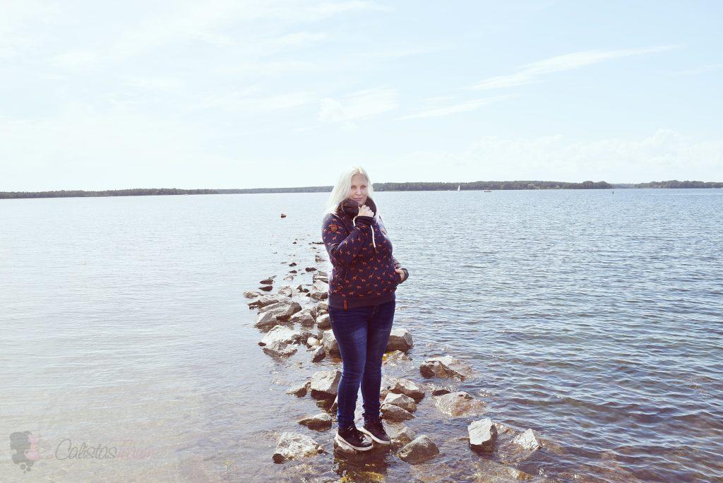 Naketano Damen Sweatshirt Die Finnen kommen