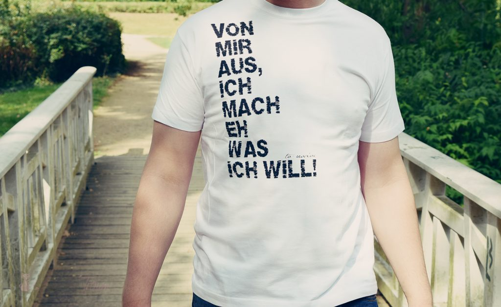 Von mir aus - Fair Wear Organic T-Shirt