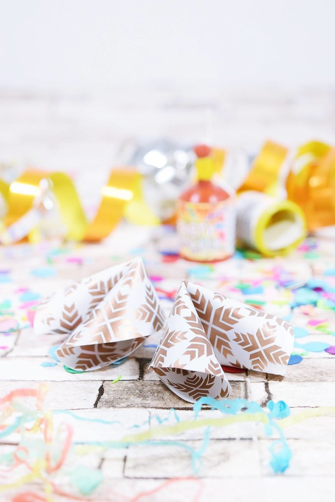 Glückskekse Selber Machen silvester diy glückskekse aus papier selber machen calistas traum