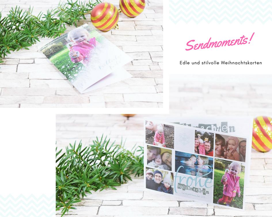 Last Minute Tipp Edle Und Stilvolle Weihnachtskarten Sendmoments