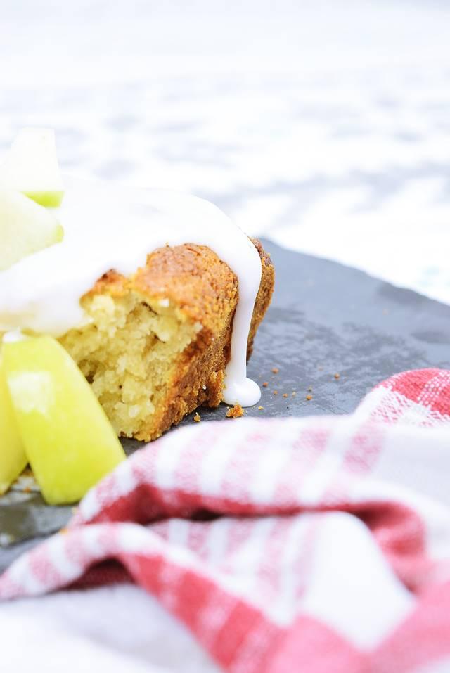 Apfel Haferflocken Kuchen Mit Tonka Glasur Calistas Traum