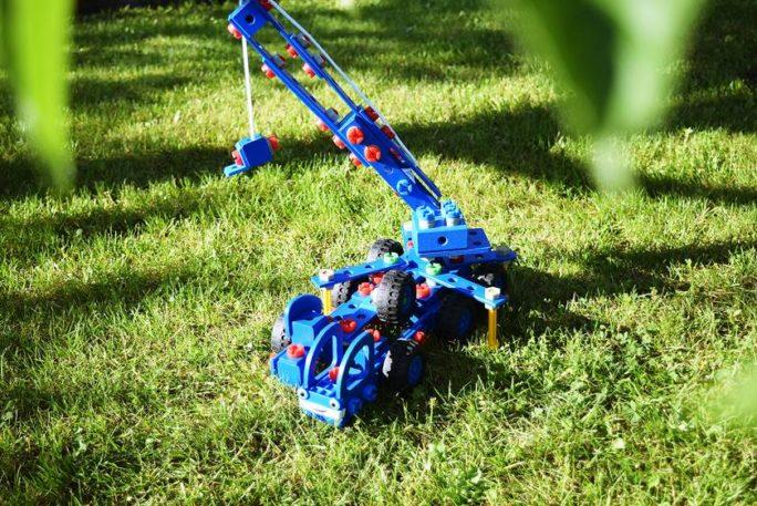 Bob Constructor Kranwagen Heppo – Holzspielzeug mit Charme