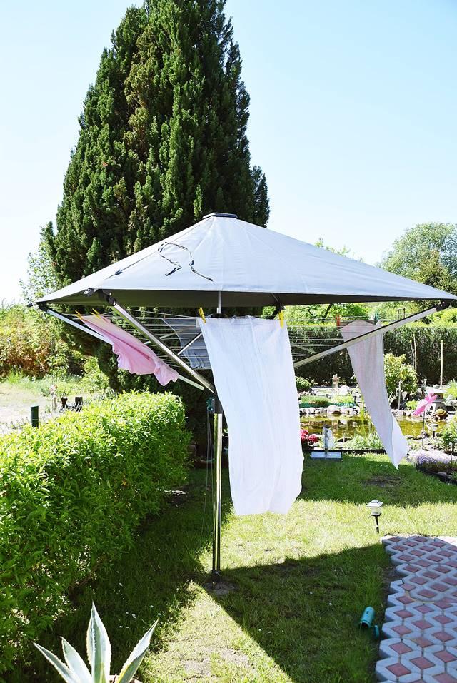 Wäschespinne Mit Dach : w schespinne mit dach leifheit 1 calistas traum ~ Watch28wear.com Haus und Dekorationen